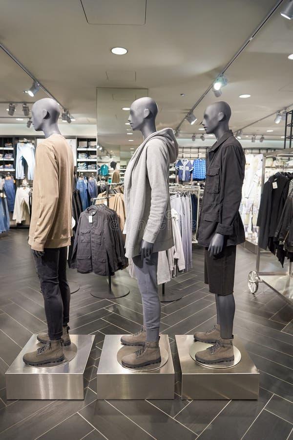 H&M opslag stock fotografie