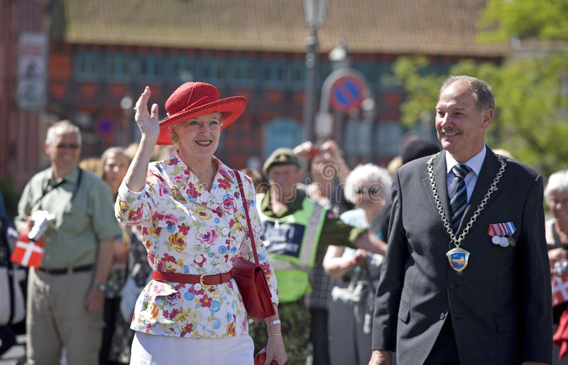 H M Queen Margrethe the 2nd stock photo