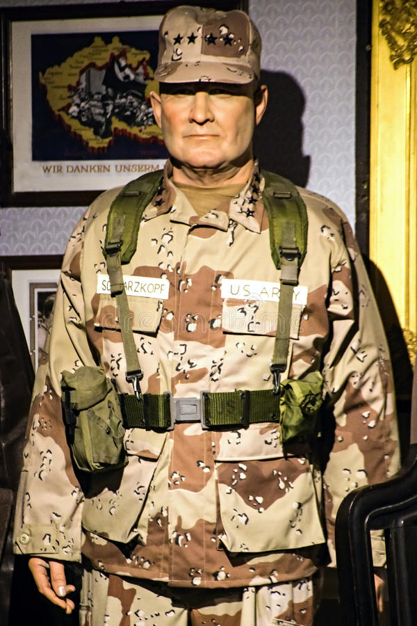 H Norman Schwarzkopf, Jr. - United States Army general. H Norman Schwarzkopf, Jr. was a United States Army general. While serving as Commander-in-Chief, United royalty free stock images