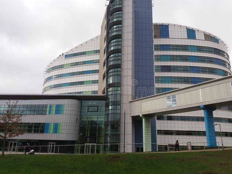 Hôpital Birmingham d'université image stock