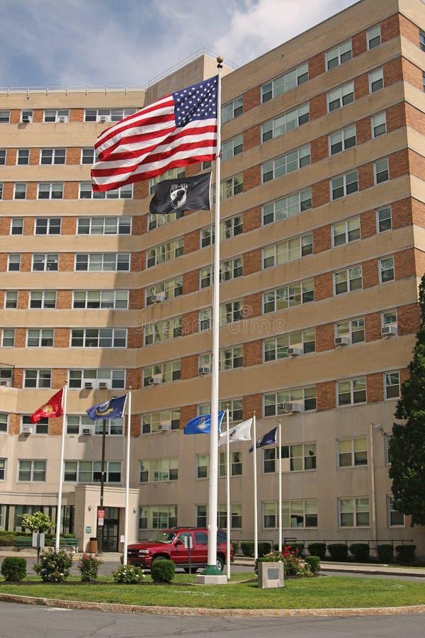 Hôpital de l'administration de vétéran photo stock