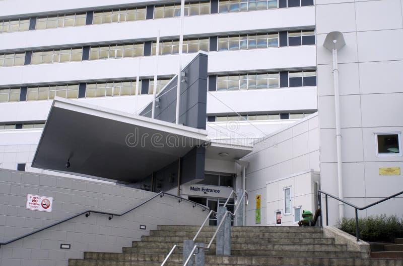 Hôpital du nord de rivage - Nouvelle-Zélande image libre de droits