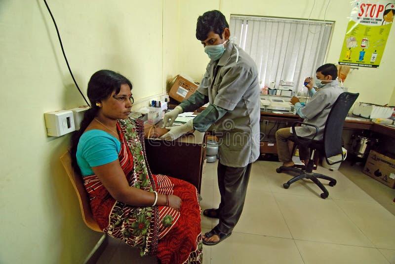 Hôpital indien image libre de droits