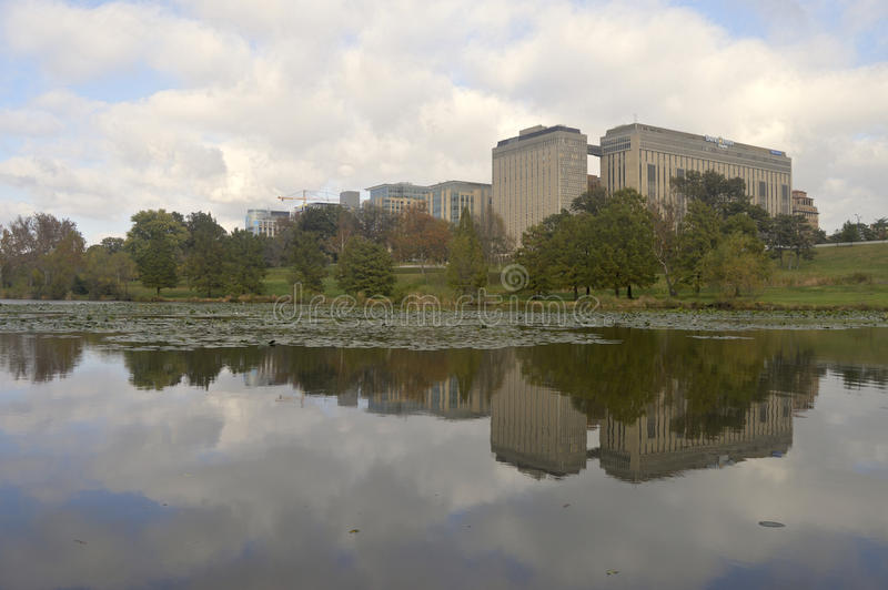 Hôpital juif de Barnes à St Louis, Missouri photo libre de droits