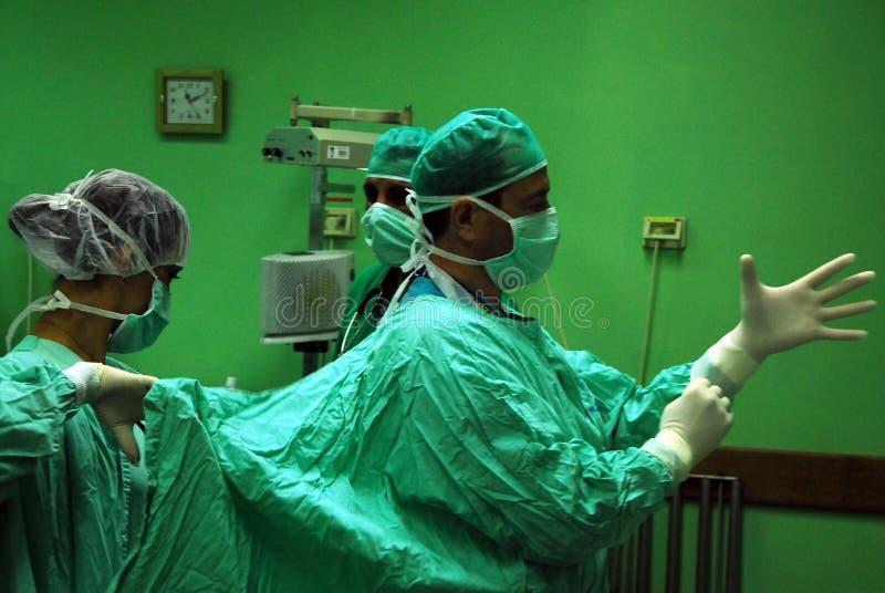 Hôpital - salle d'opération image libre de droits