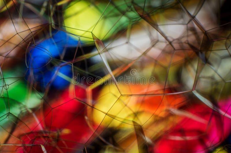 H?rlig mjuk abstrakt bakgrund av s?pbubblor arkivfoton