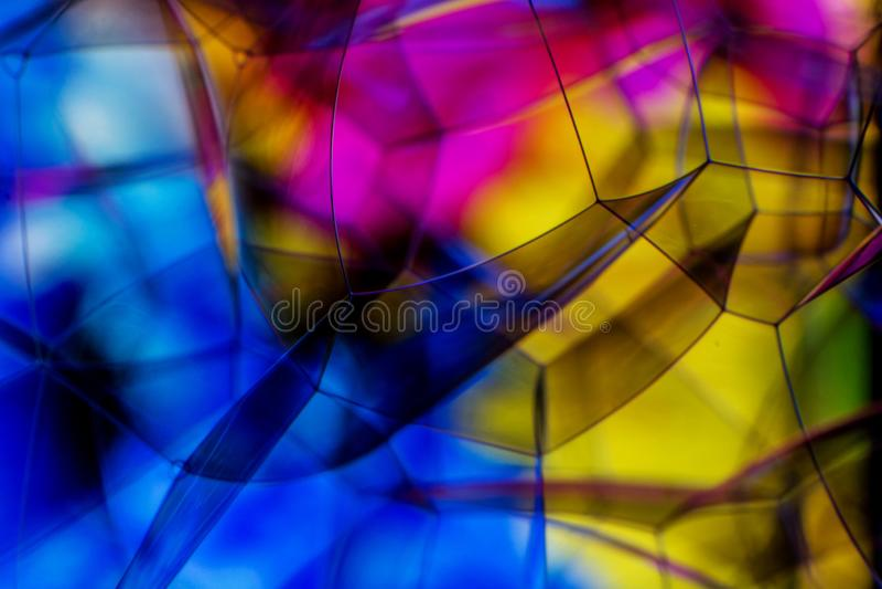 H?rlig mjuk abstrakt bakgrund av s?pbubblor arkivbild