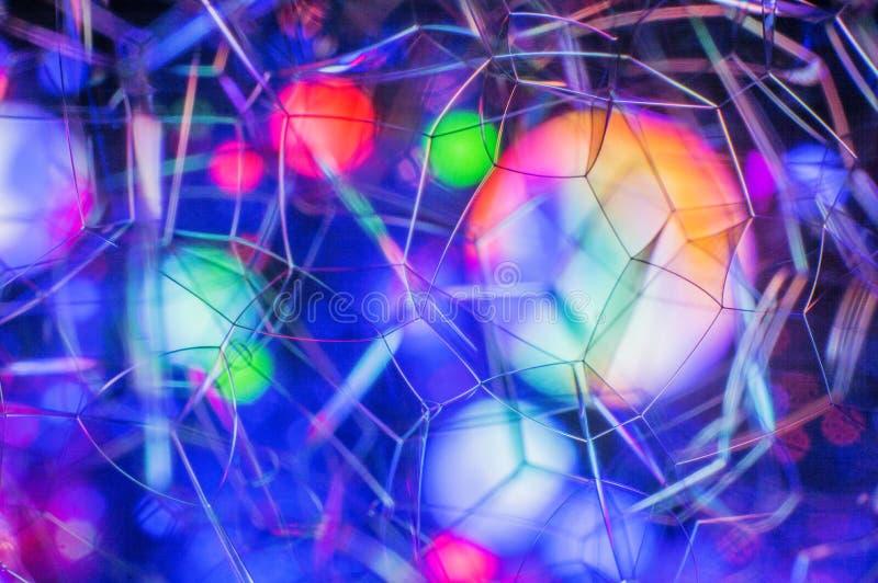 H?rlig mjuk abstrakt bakgrund av s?pbubblor arkivfoto