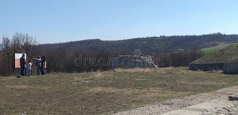 H?rlig natur i Serbien arkivbilder