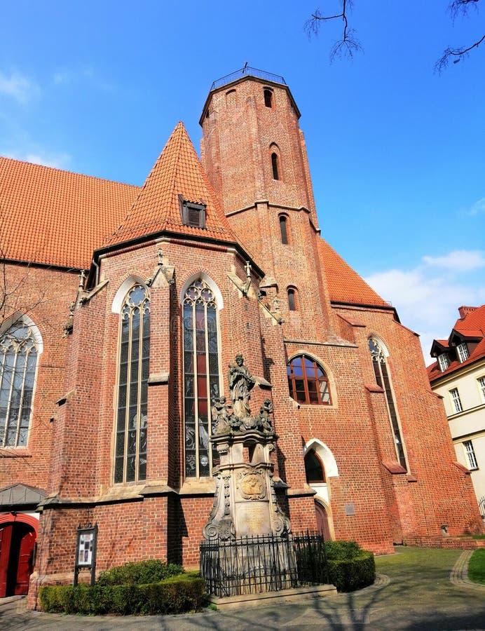 H?rlig stad av Wroc? ?aw, Silesia, Polen royaltyfria bilder