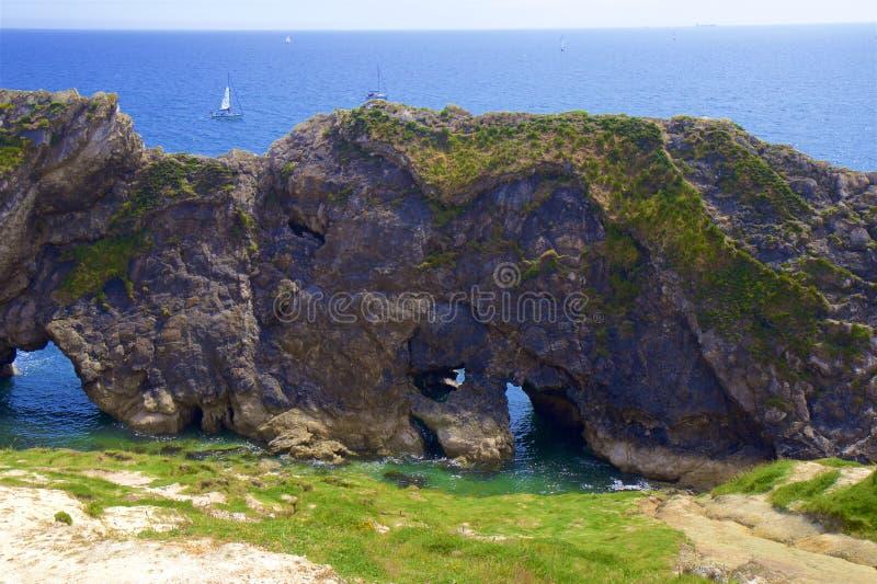 H?rliga str?nder av Dorset, UK royaltyfri fotografi