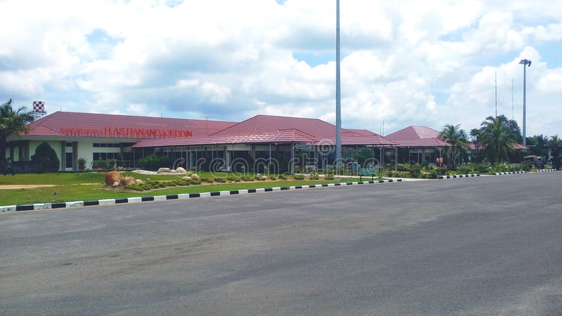 H.A.S. Hanandjoeddin Airport royalty free stock photos