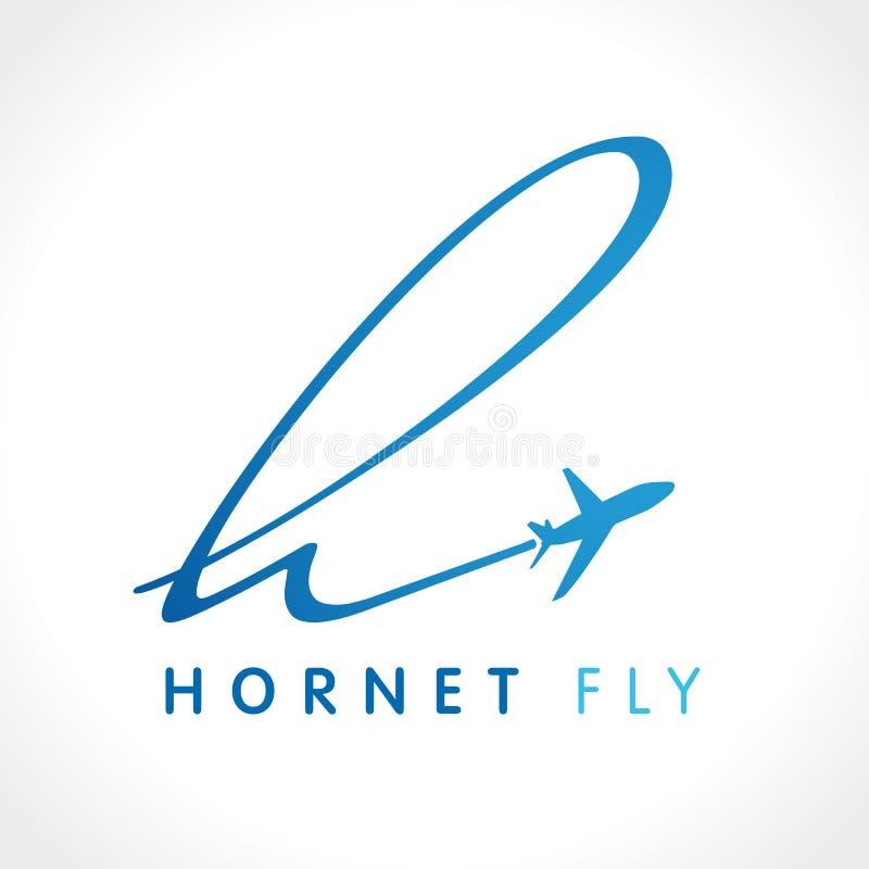 H szerszenia podróży firmy logo ilustracji