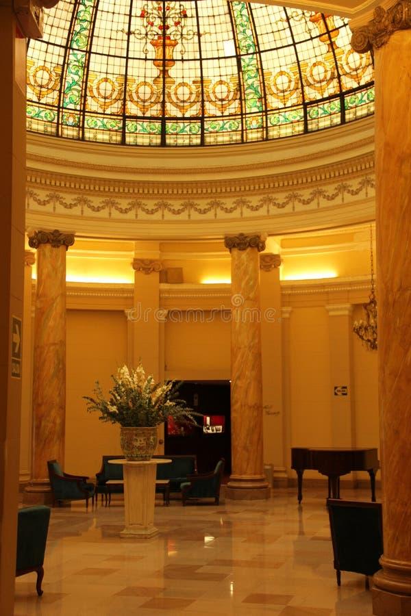 Hôtel Bolivar de mamie images libres de droits