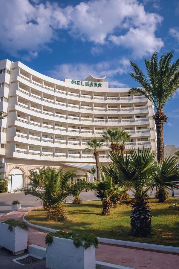 H?tel dans Sousse photo libre de droits