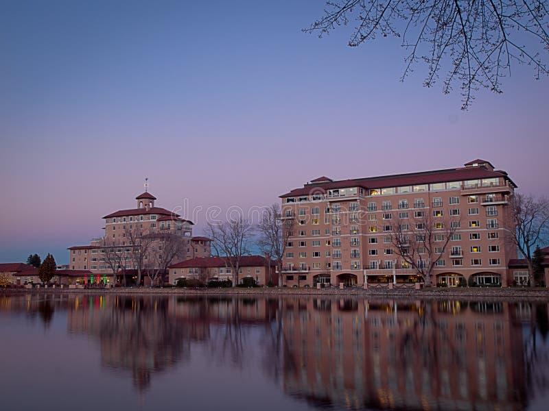 Hôtel de Broadmoor photographie stock