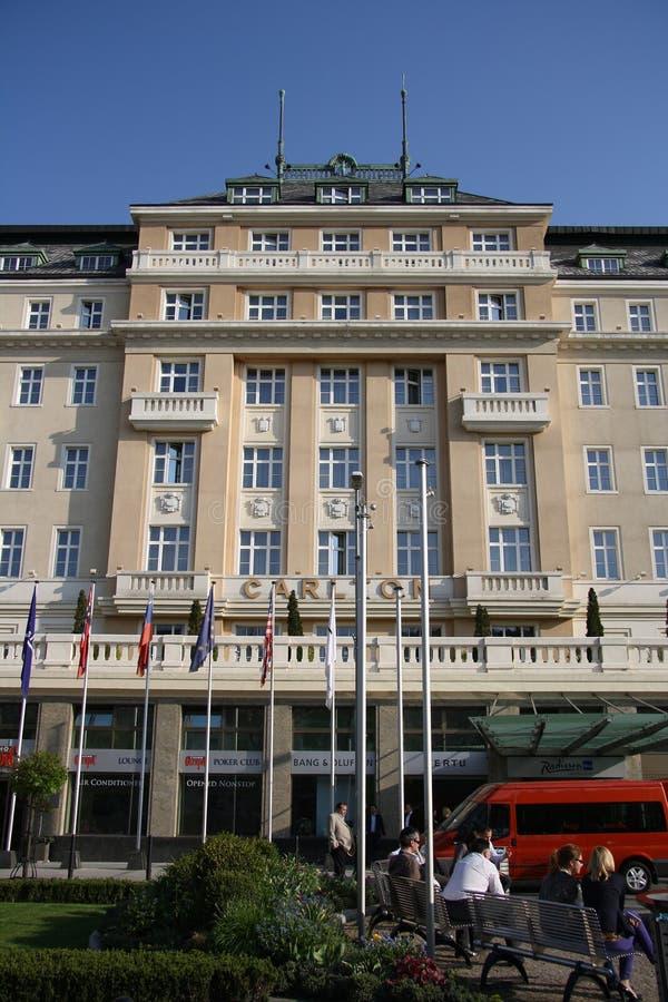 Hôtel De Carlton à Bratislava (Slovaquie) Image stock éditorial