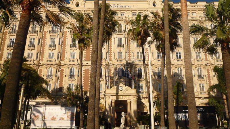 Hôtel de Carlton à Cannes, France, 20ème Novembre, 2013 images libres de droits