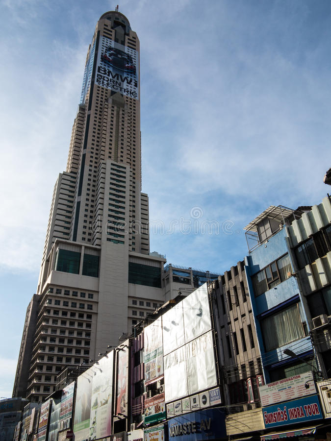 Hôtel de ciel de Bayoke à Bangkok photo libre de droits