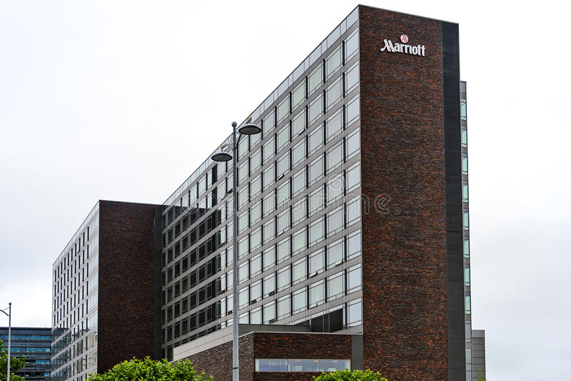 Hôtel de Copenhague Marriott photos libres de droits