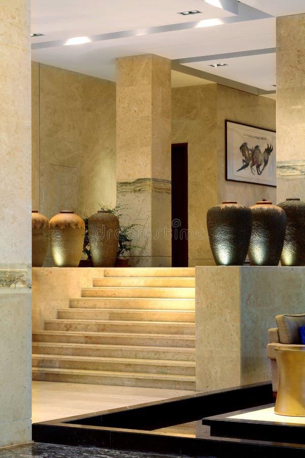 Hôtel de cour de Sanya, mer de la Chine quatre saisons photo libre de droits
