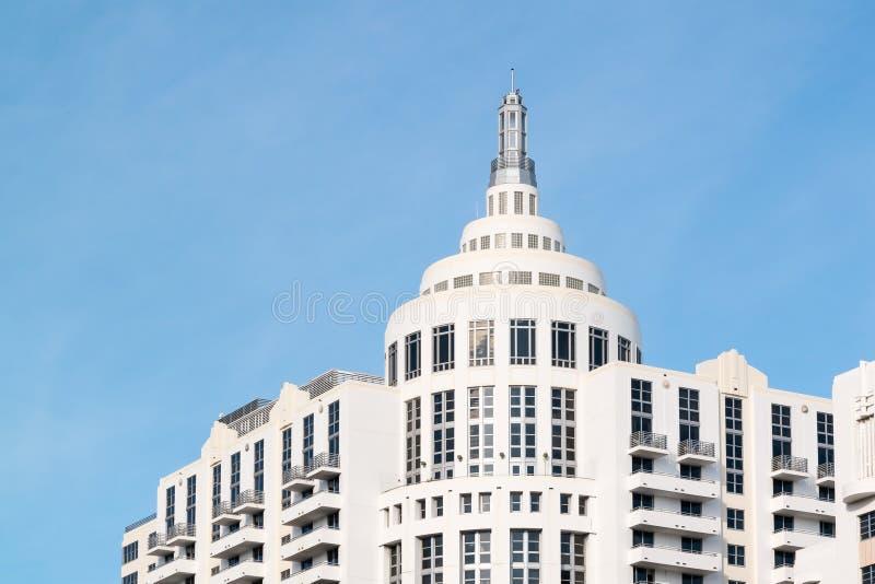 Hôtel de Loews dans Miami Beach, la Floride images stock