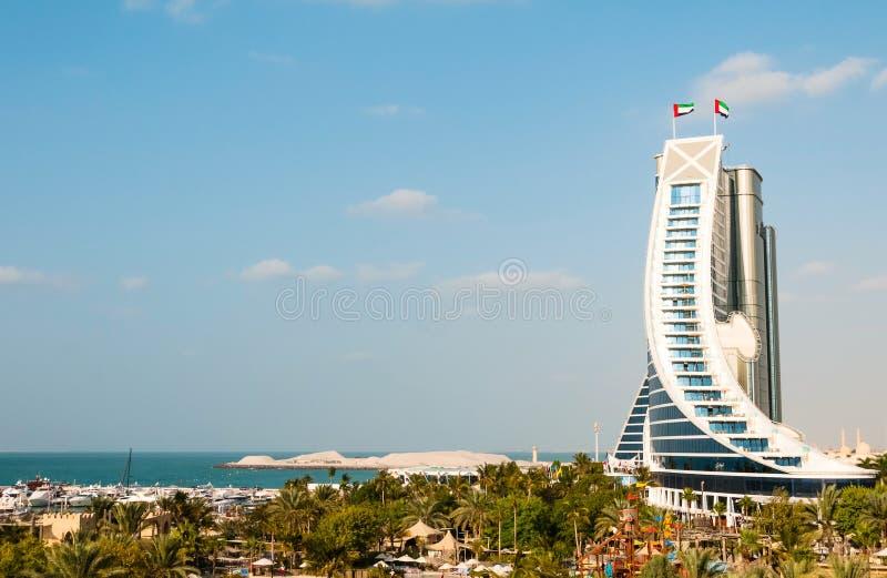 Hôtel de plage de Jumeirah image libre de droits