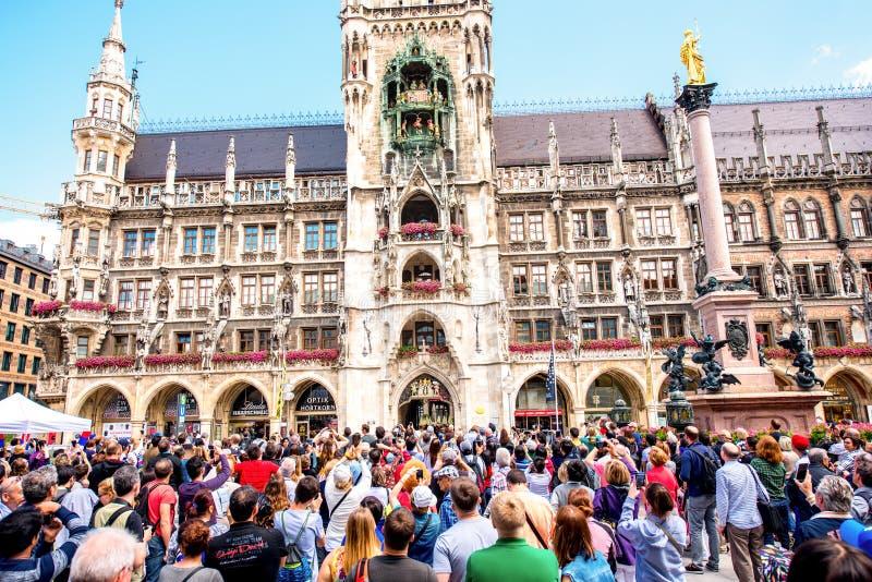 Hôtel de ville à Munich photo libre de droits