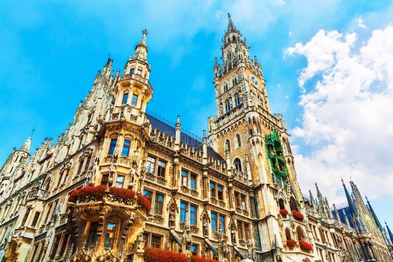 Hôtel de ville à Munich, Allemagne photos stock