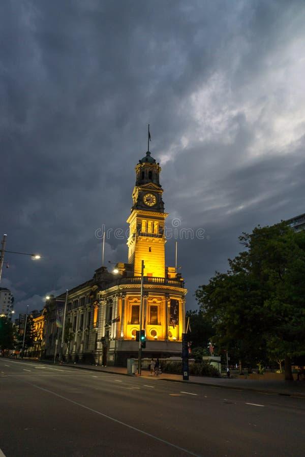 Hôtel de ville d'Auckland photos libres de droits