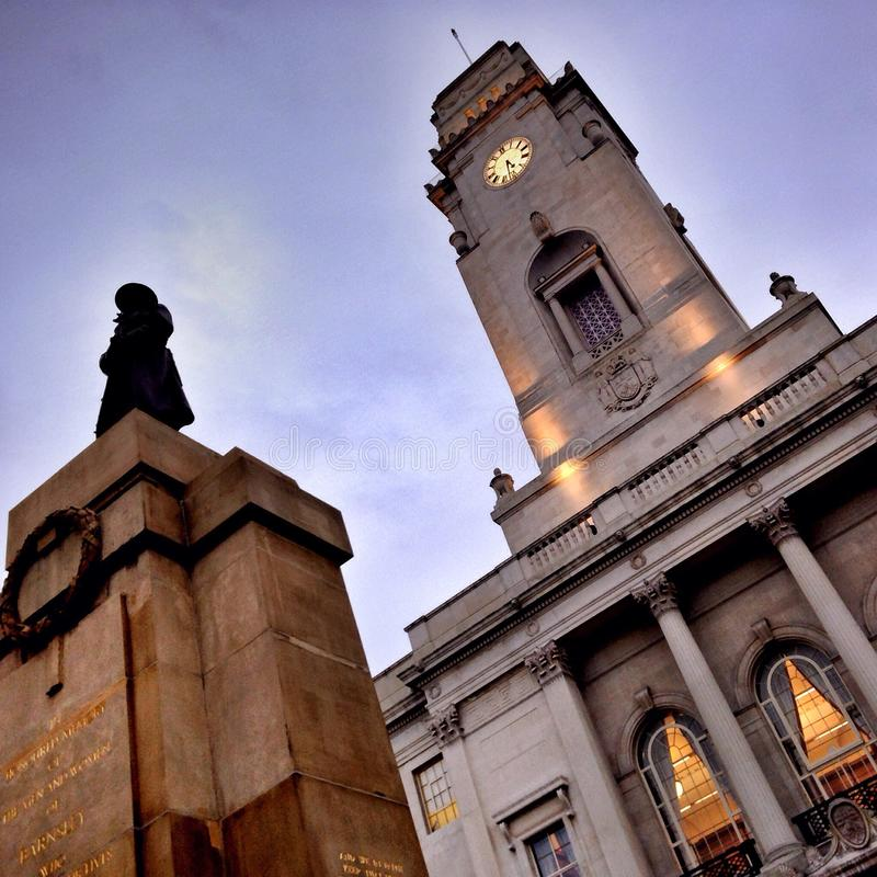 Hôtel de ville de Barnsley image stock