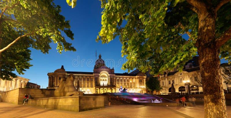 Hôtel de ville de Birmingham photos libres de droits
