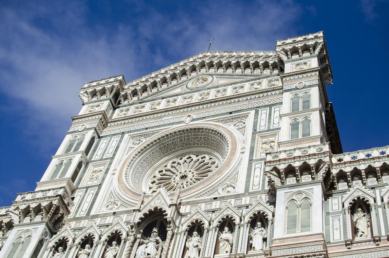 Hôtel de ville de Florence, Duomo image libre de droits