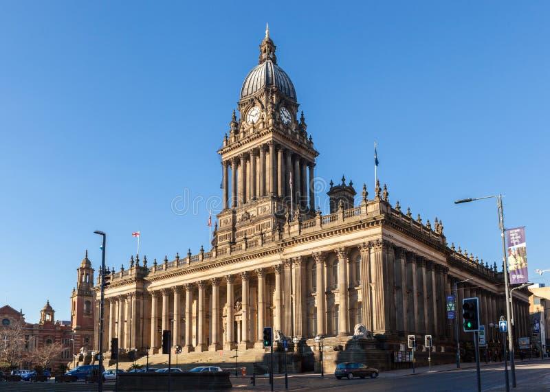 Hôtel de ville de Leeds photographie stock libre de droits