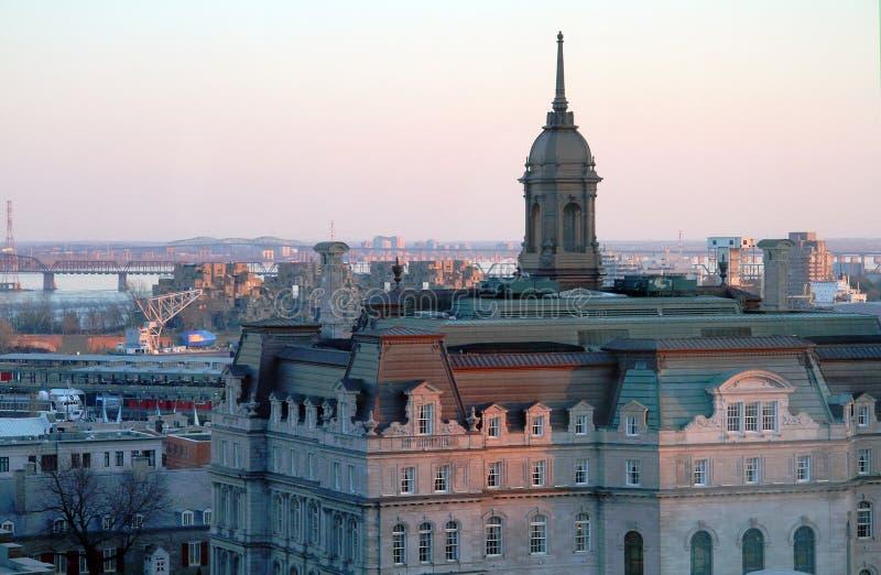 Hôtel de ville de Montréal photographie stock libre de droits