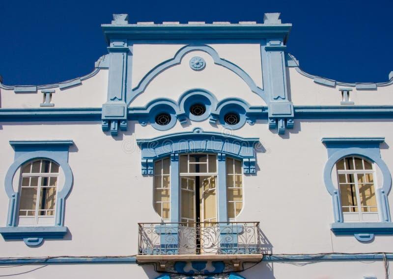 Hôtel de ville de Reguengos de Monsaraz, Portugal images stock
