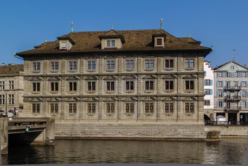 Hôtel de ville de Zurich photographie stock libre de droits