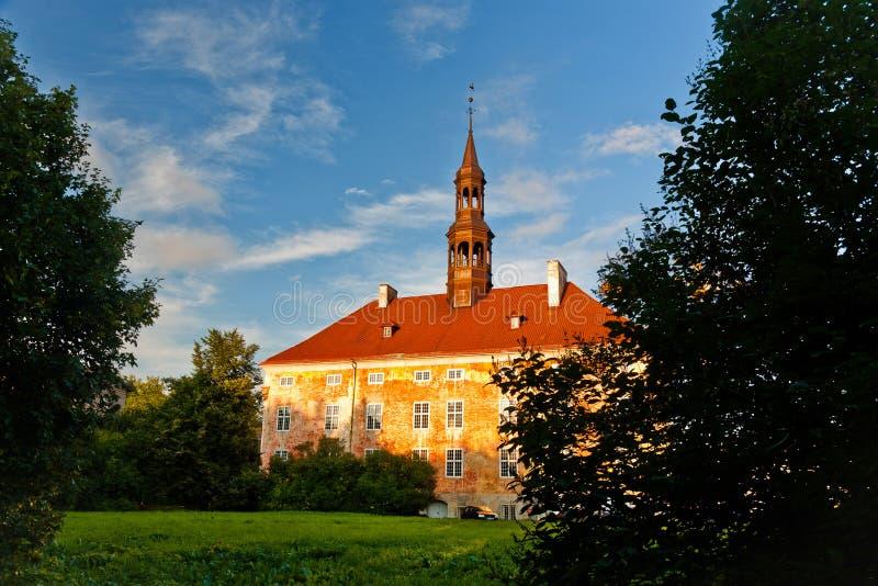 Hôtel de ville médiéval de Narva images libres de droits
