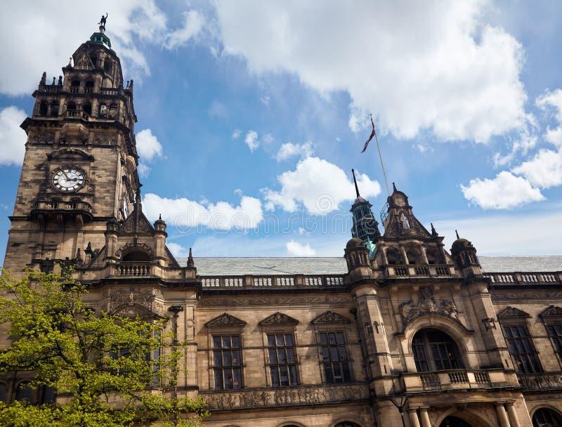 H?tel de ville de Sheffield sheffield l'angleterre photo stock