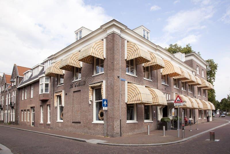 Hôtel de wereld à Wageningen image libre de droits