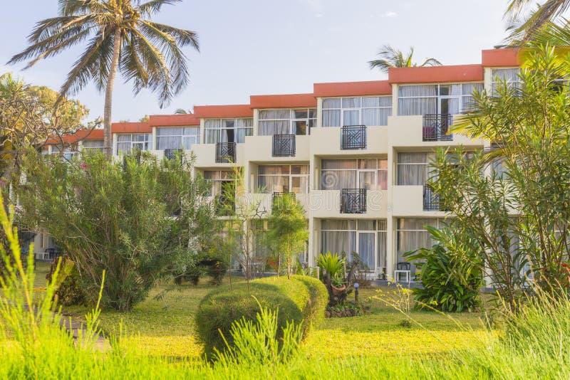 Hôtel en Gambie photo stock