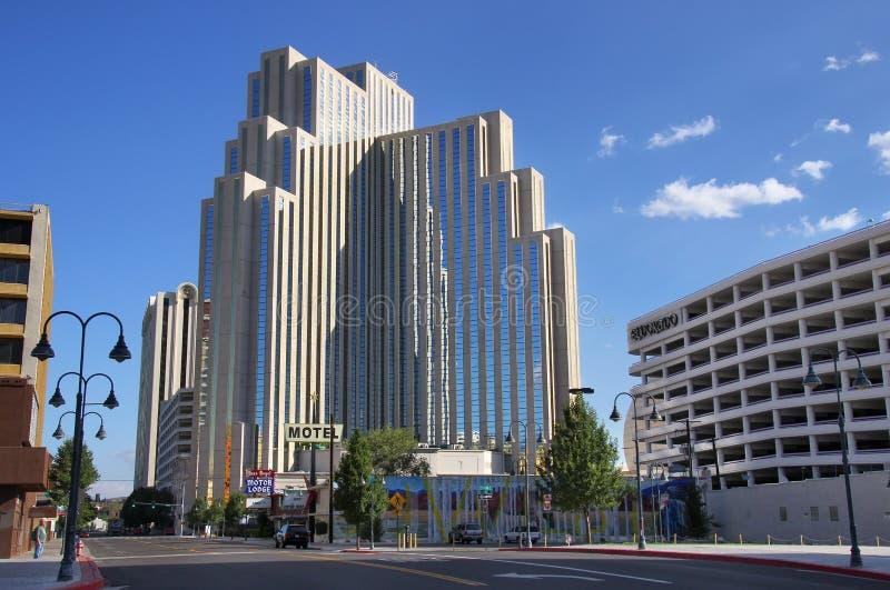 Hôtel et casino argenté de legs à Reno, Nevada photographie stock libre de droits