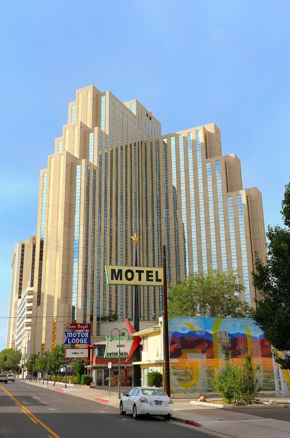Hôtel et casino argenté de legs à Reno, Nevada photo libre de droits