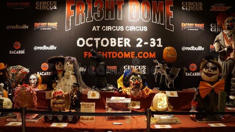 Hôtel et casino de cirque de cirque à Las Vegas, Nevada image libre de droits