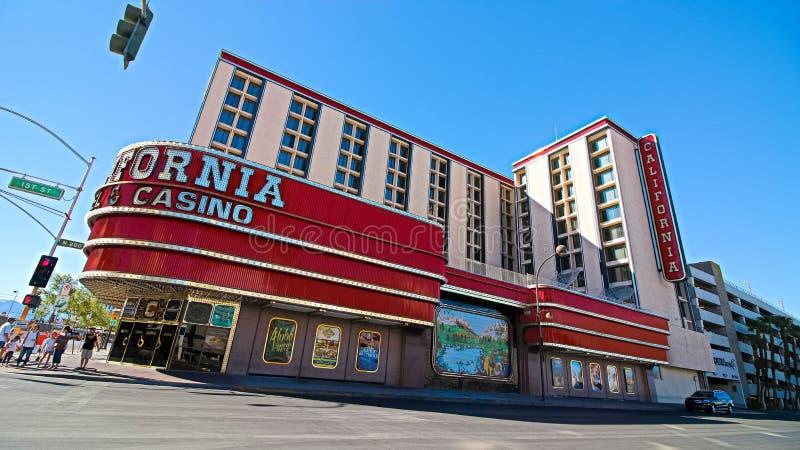 H?tel et casino de la Californie images libres de droits