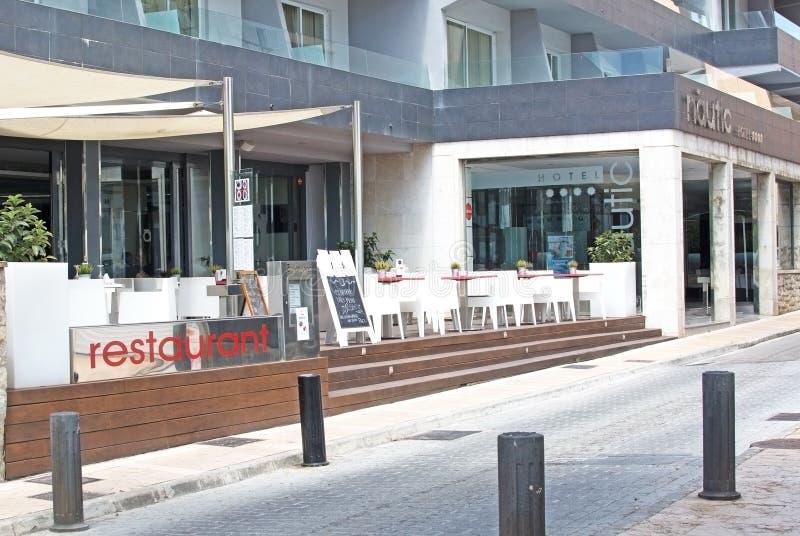 Hôtel et restaurant de Nautic d'hôtel photo stock