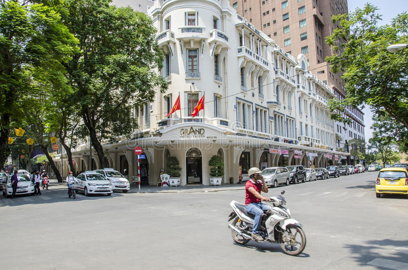 Hôtel grand Saigon photo stock