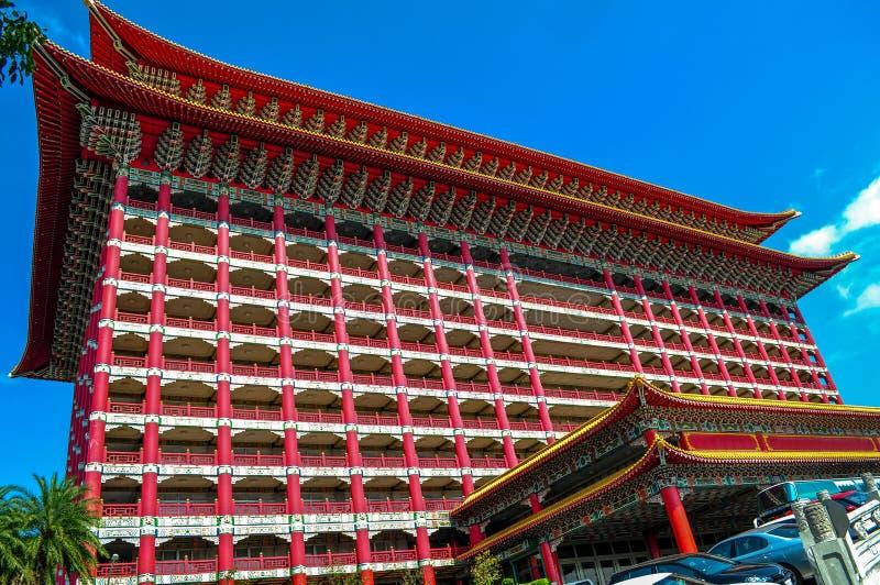 Hôtel grand, Taïpeh photo libre de droits