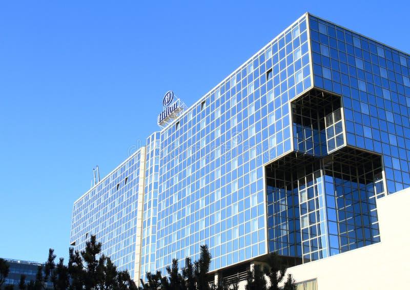 Hôtel Hilton à Prague photographie stock libre de droits