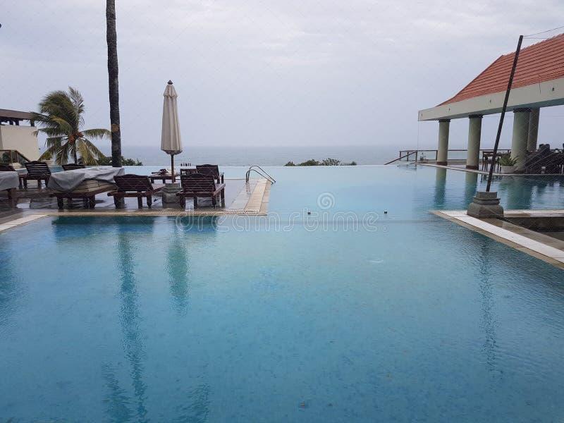 Hôtel Leela Kovalam, Kerala image libre de droits